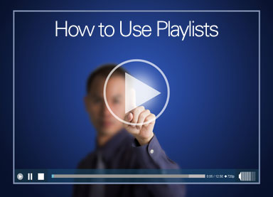 How to Use Playlists